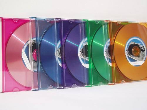 CD DVD_vinile_colorati