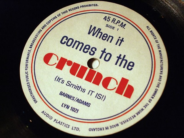 smiths crisps flexidisc id 535 when it comes to the