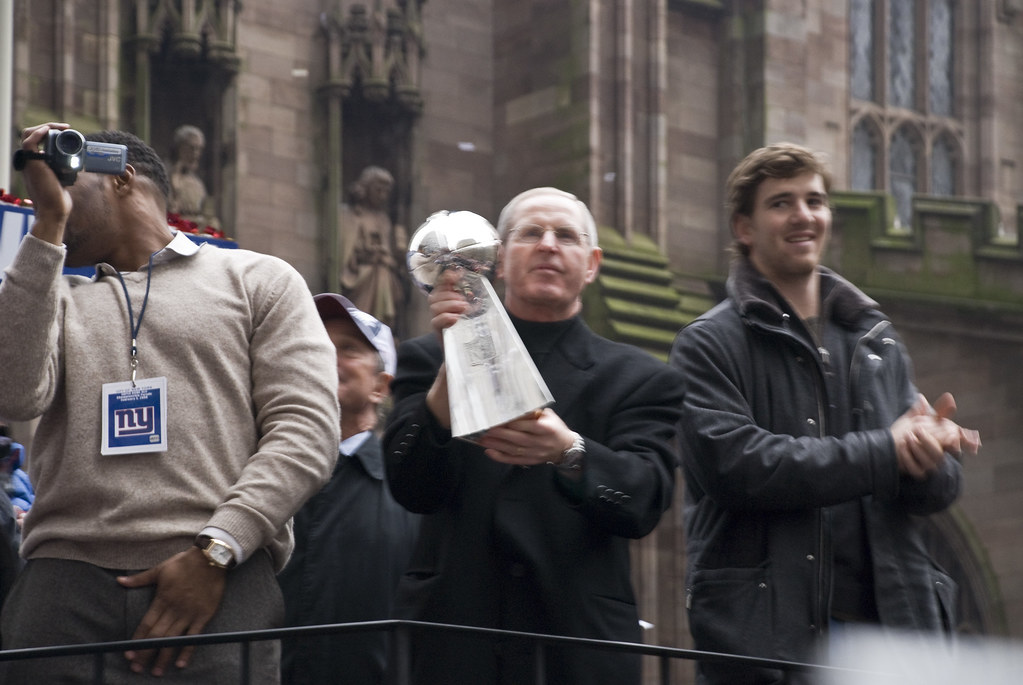 Giants Parade-Strahan, Coughlin & Eli 3