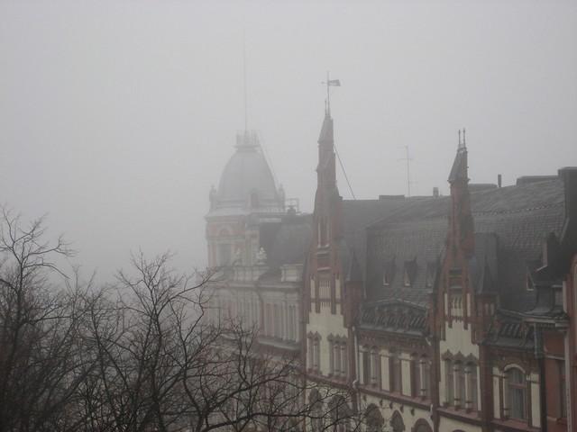 Sumu fog in Helsinki