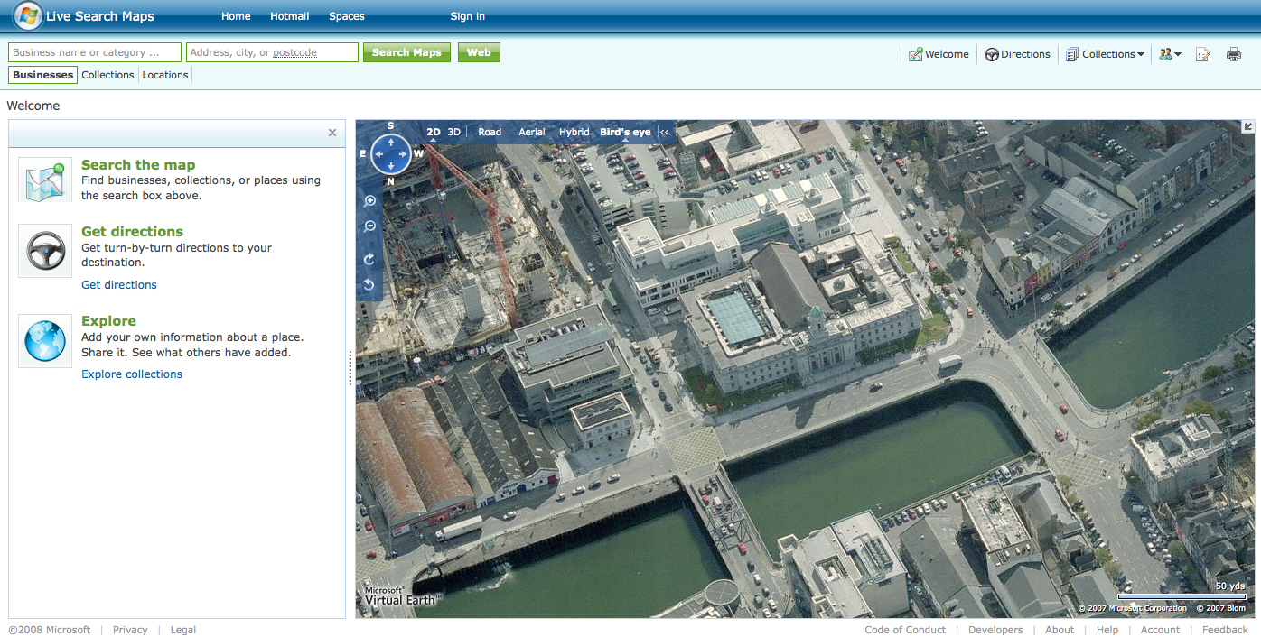 Bird's Eye view on Live maps – how cool is that? – The ...