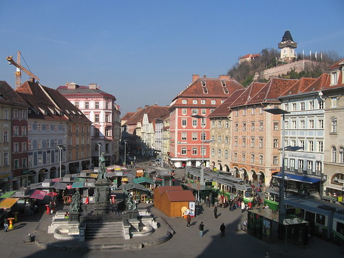 Graz main square
