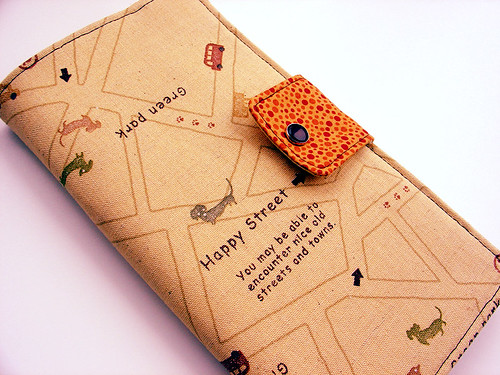 Passport Wallet-Happy Map