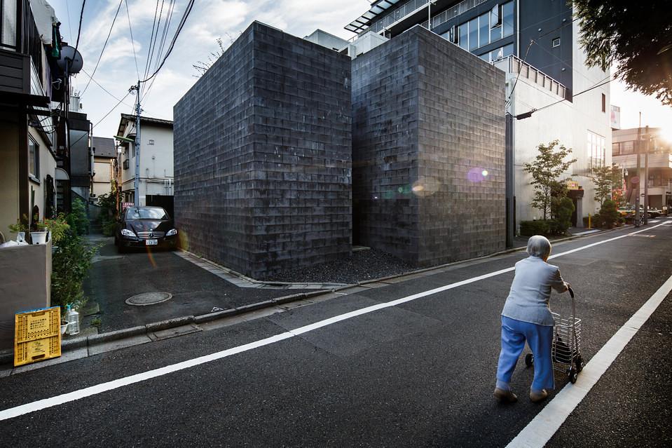 住宅密度大於高度,東京建築「怪宅」林立8