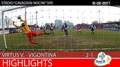 Virtus V.-Vigontina del 12-02-17