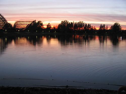 sunset lake ny newyork canon darien sx100 canonimous