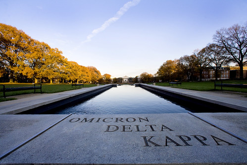 ODK Fountain on McKeldin Mall