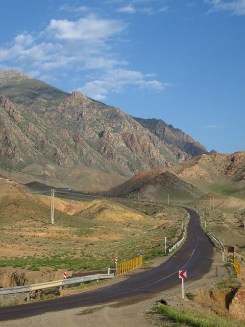 Glorious mountain roads