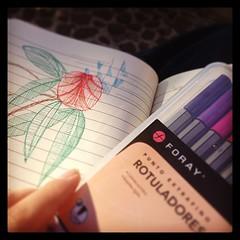 Cuando era chica con un libro para colorear y crayolas me tenían entretenida un buen rato, las cosas no han cambiado mucho #reto365días #día74