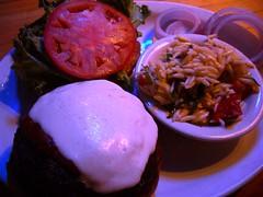 Columbus Day Burger