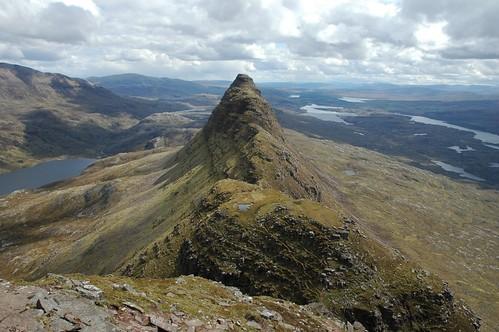 Sulivens summit ridge