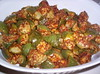 brinjal - methi powder curry