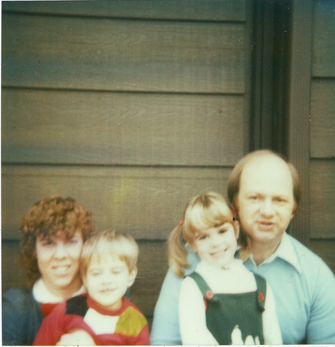 Mom, Andy, me and Dad