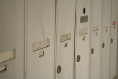 wood, locker, door,