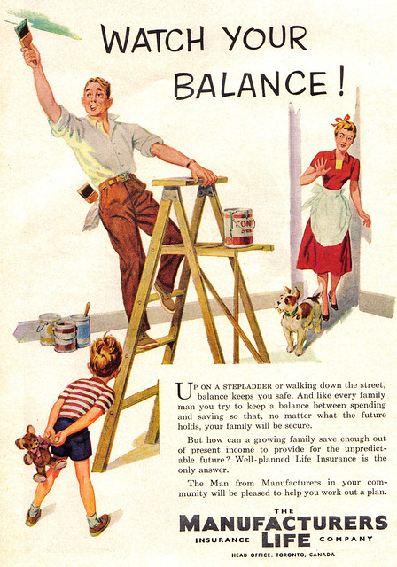 Vintage Ad #470: Watch Your Balance!