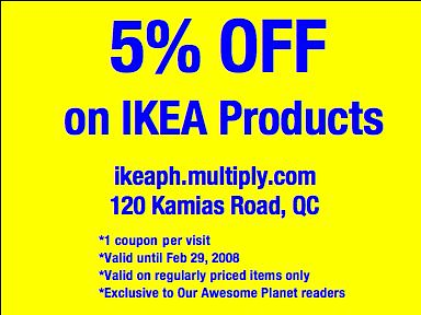 Photo for Coupon mobile ikea