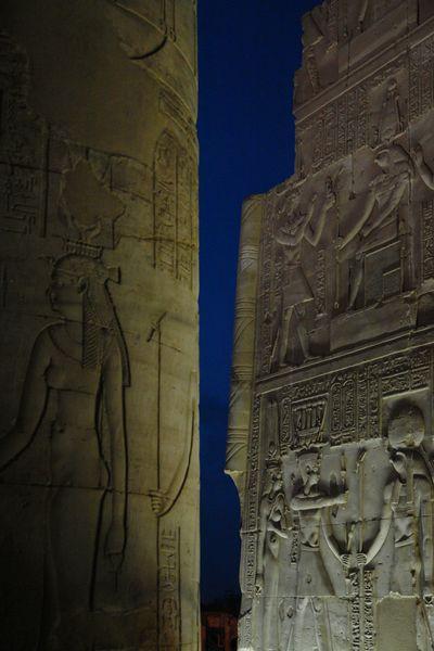 Templo de Kom Ombo de noche Templos a la orilla del río Nilo en Egipto - 2473739261 01dcf88e7e o - Templos a la orilla del río Nilo en Egipto