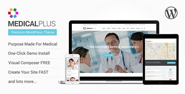 MedicalPlus v1.0.9 - Health and Medical WordPress Theme