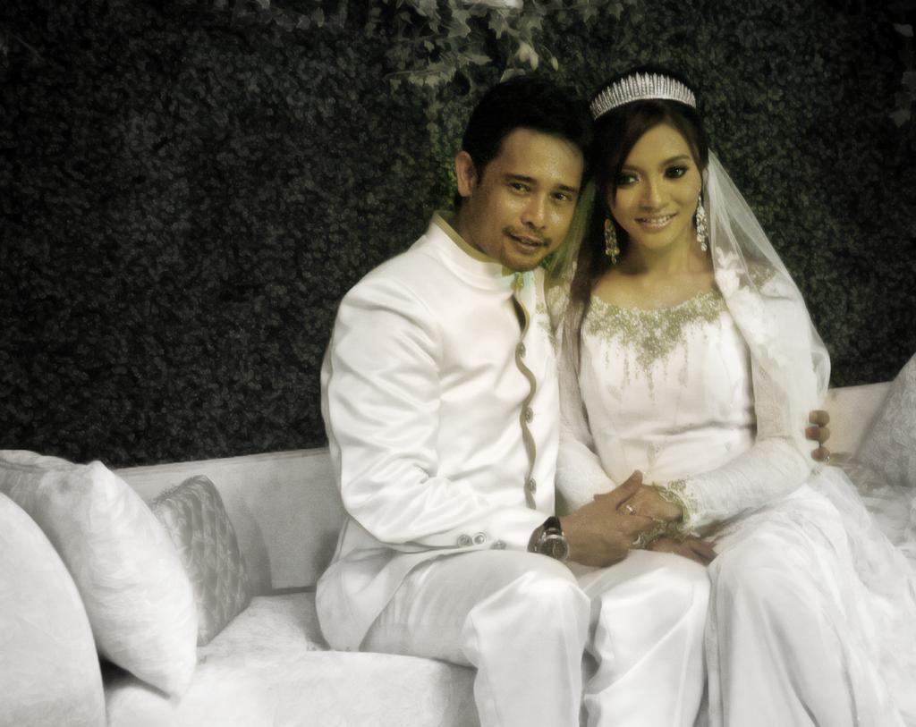 Malaysian Celebrity Weddings ~ Zamarul Hisham &Amp; Diana Rafar.
