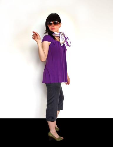 Los tonos en morado est n de moda - Combinar color lila ...