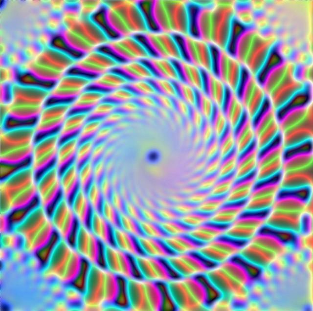 Optical IIlusion Spiral
