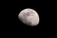 moon, lunar eclipse, celestial event, black-and-white, astronomical object,