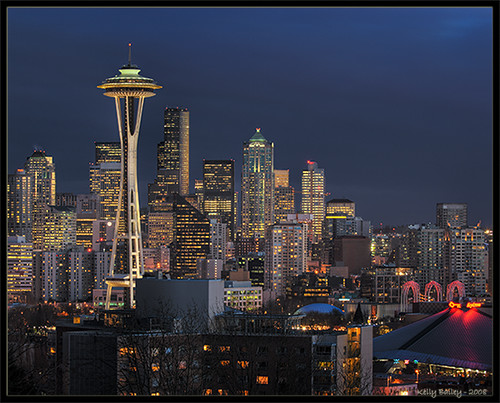 Another Seattle shot from Kerry Park (HDR)