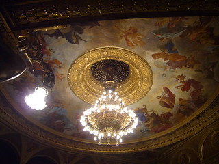 Image of Hungarian State Opera House near Budapest VI. kerület. opera hungary budapest operahouse pest magyarország austriahungary andrássyút hungarianstateoperahouse