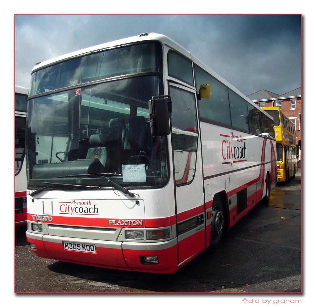 Plymouth Citybus 305 M305KOD