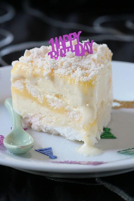 ... Celebrations: Lemon Meringue Ice Cream Cake | Flickr - Photo Sharing