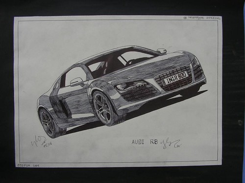 Audi R8 by takeshicollection