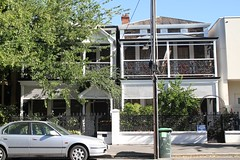 Houses at 407-409 Carrington Street, 2014