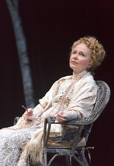 Kate Burton as Arkadina in the Huntington Theatre Company production Anton Chekhov's passionate classic THE SEAGULL directed by Maria Aitken, playing March 7 - April 6, 2014 at the Avenue of the Arts / BU Theatre. Photo: T. Charles Erickson