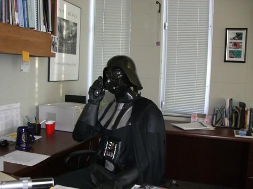 Dean Vader's Office... Vader Speaking