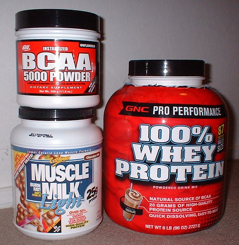 Day 10/366 - my muscle building supplements