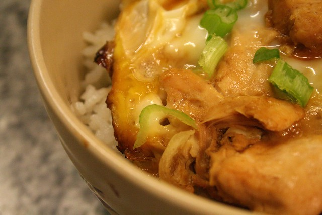 oyakodon japanese chicken & egg rice bowl | My recipe for Oy ...