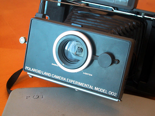 Polaroid Land Experimental model 002 w cover by canon7dude