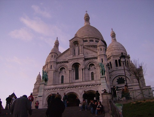 Sacre Coeur, sunset