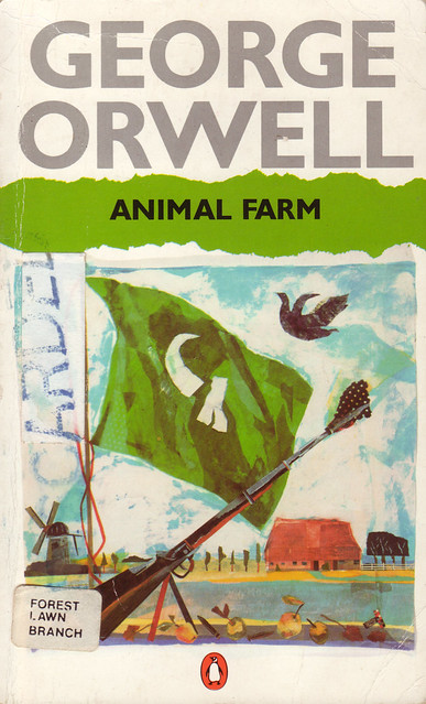 How does Animalism represent Communism in the novel Animal Farm by George Orwell?
