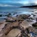 Praia da Oura Shoreline by Stu Worrall Photography
