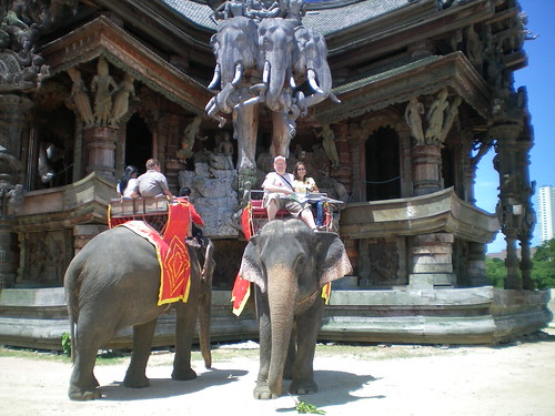 Sanctuary of Truth -  Elephant Ride