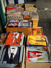 Sale of fake (paper) clothes, shoes, watches for ancestor veneration (Joss paper)