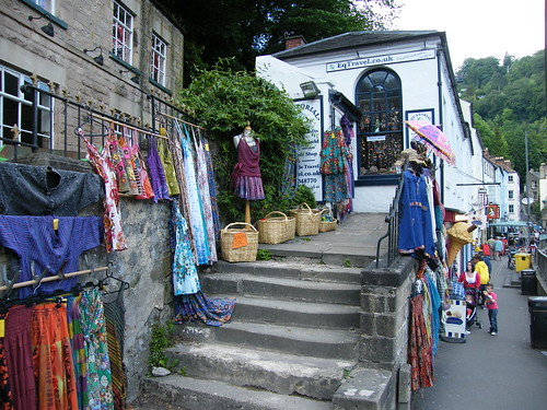 A funky little shop in Matlock Bath