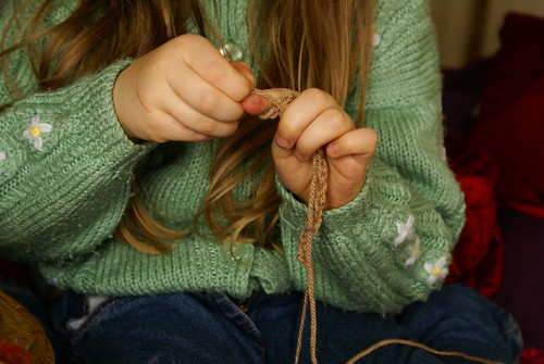 Matilda Finger Knitting