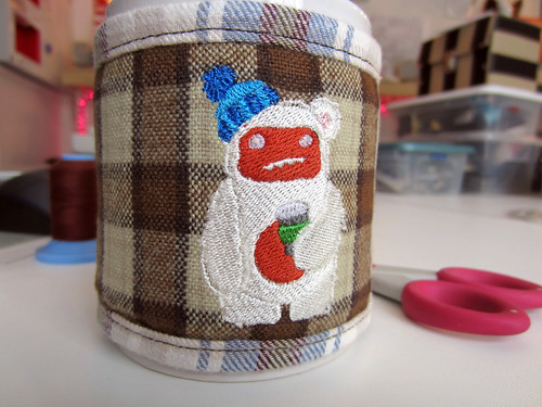 Paul's Yeti Mug-Warmer by shefightslikeagirl