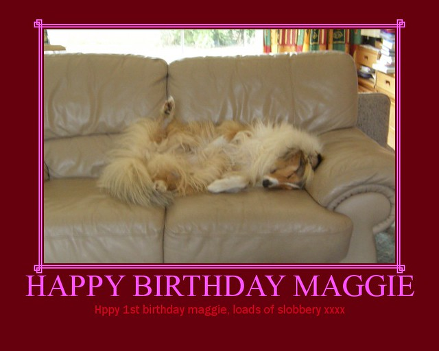HAPPY BIRTHDAY MAGGIE | Flickr - Photo Sharing!
