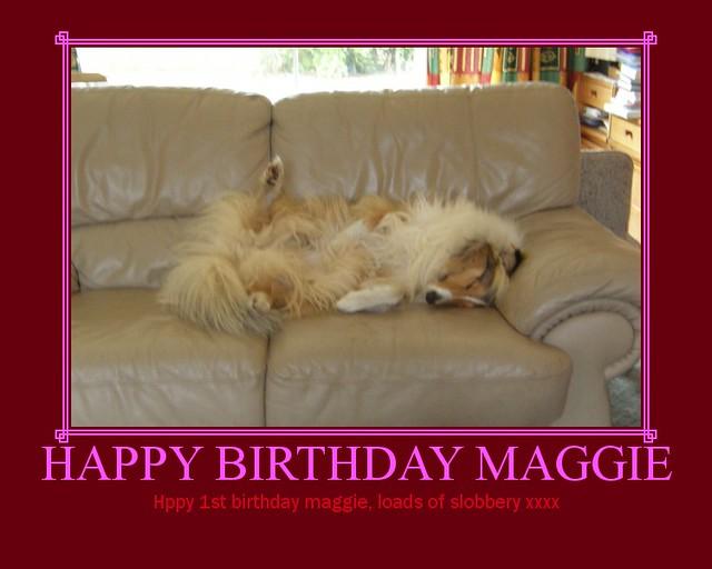 HAPPY BIRTHDAY MAGGIE | Flickr - Photo Sharing!