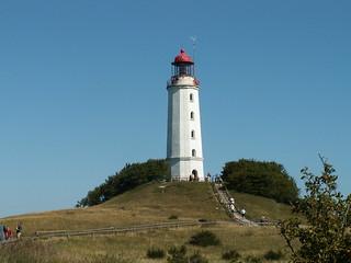 Kloster Dornbusch leuchtet der Leuchtturm kündigt dem Seemann die Richtung zum Hafen 099