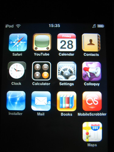 iPod Touch with iPhone apps