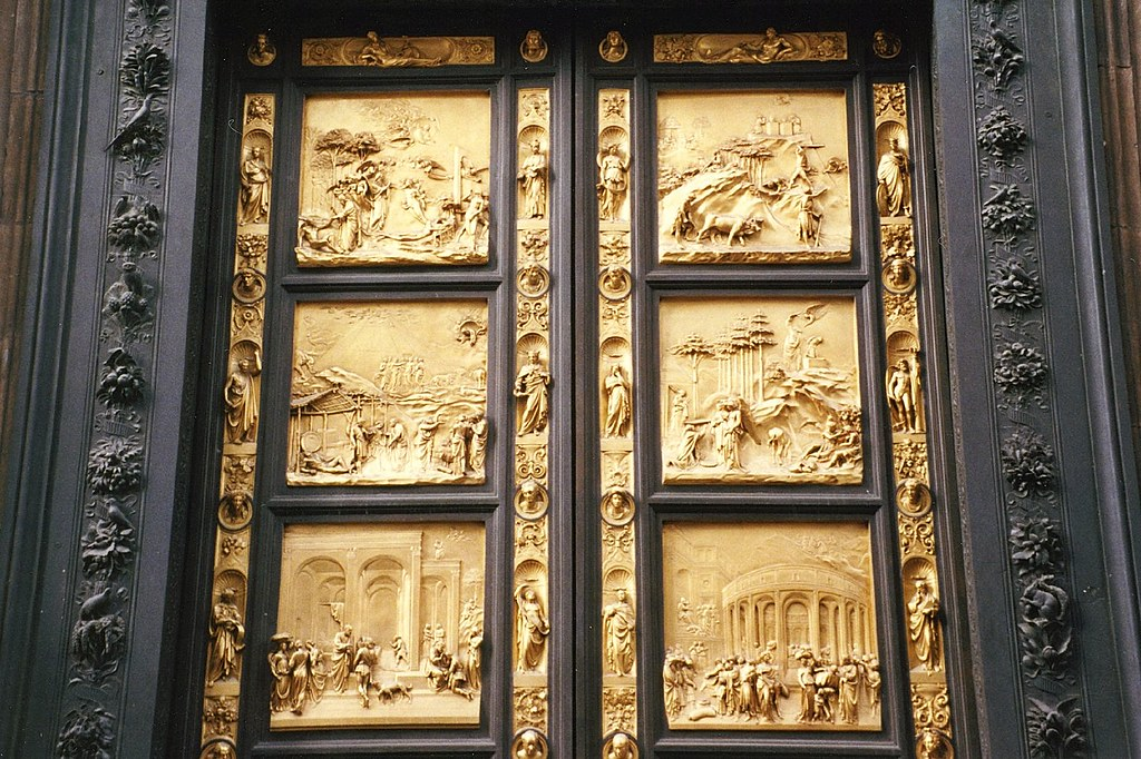 Florence - Baptistry (East Door by Lorenzo Ghiberti) & Florence - Baptistry (East Door by Lorenzo Ghiberti) - a photo on ...